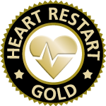 HeartRESTART Gold Logo